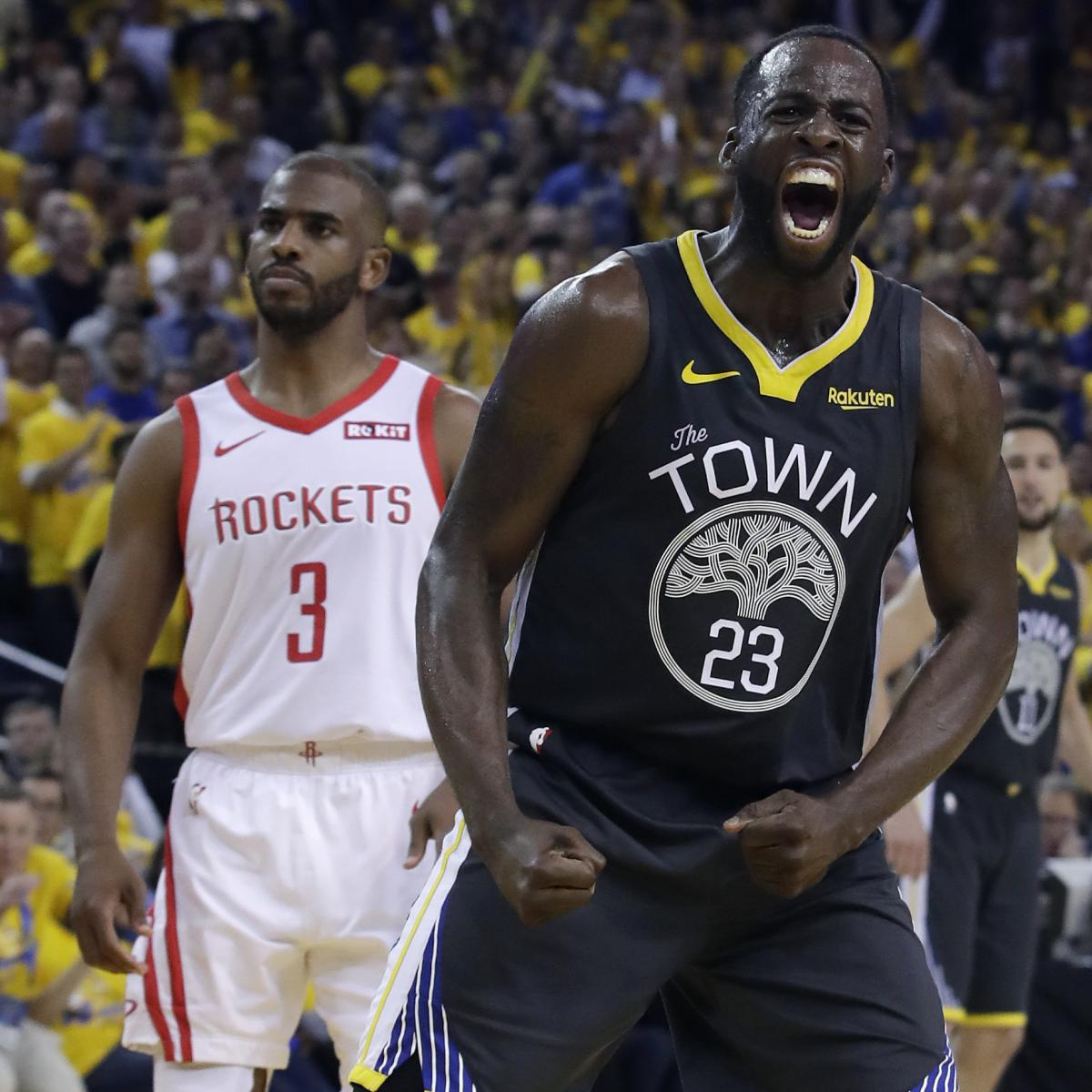 Bleacher Report Nba Staff S 2019 Playoff Predictions: NBA Playoffs 2019: Updated Bracket Results, Odds And