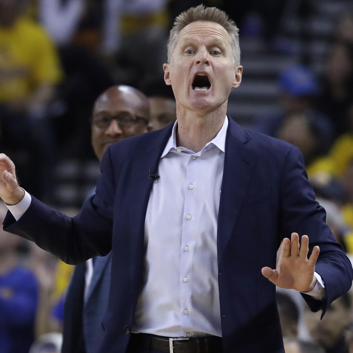Steve Kerr: Warriors Have 'More Of A Sense Of Urgency' For