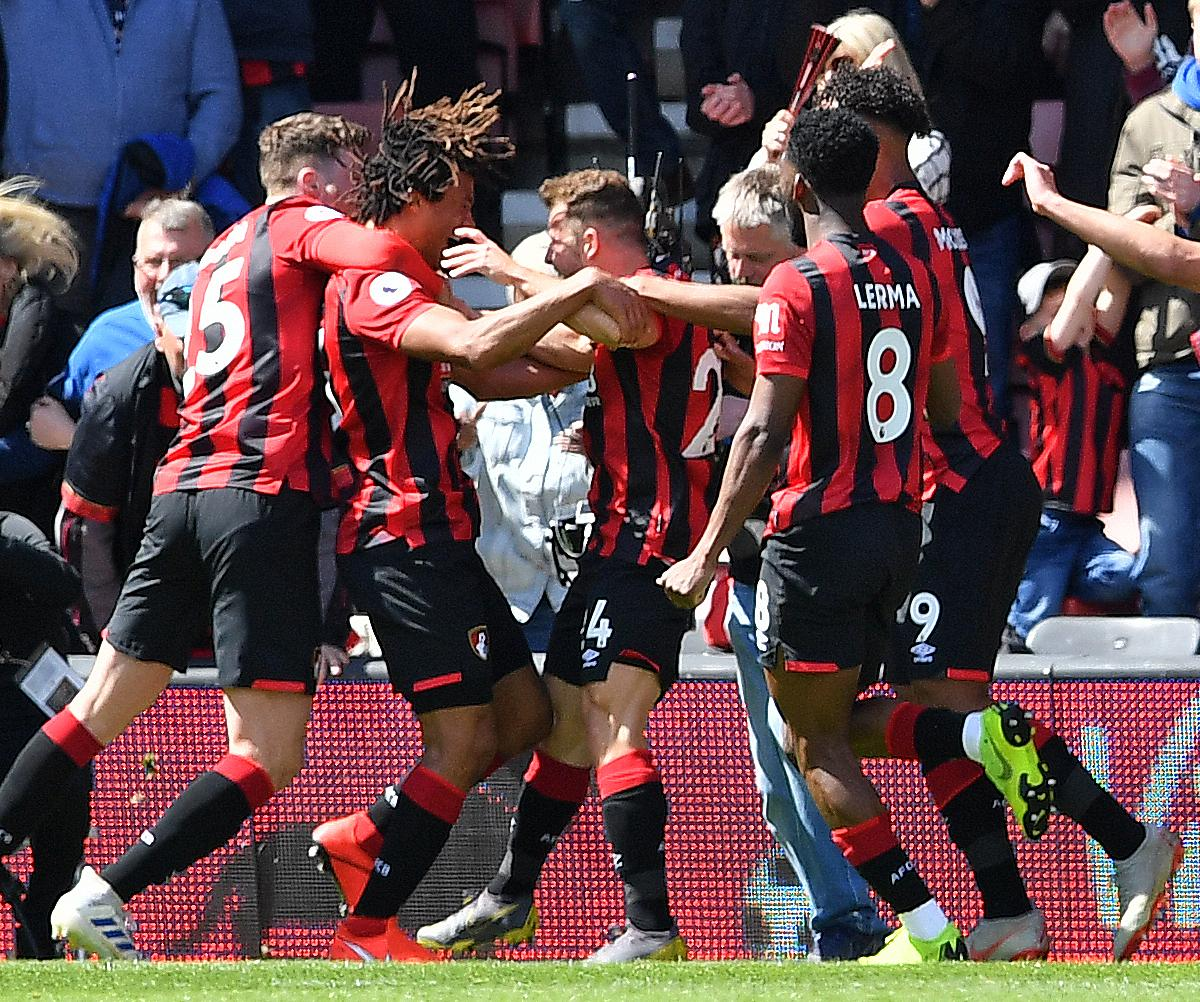 Bournemouth Steal Late Win Vs. 9-Man Tottenham After Son