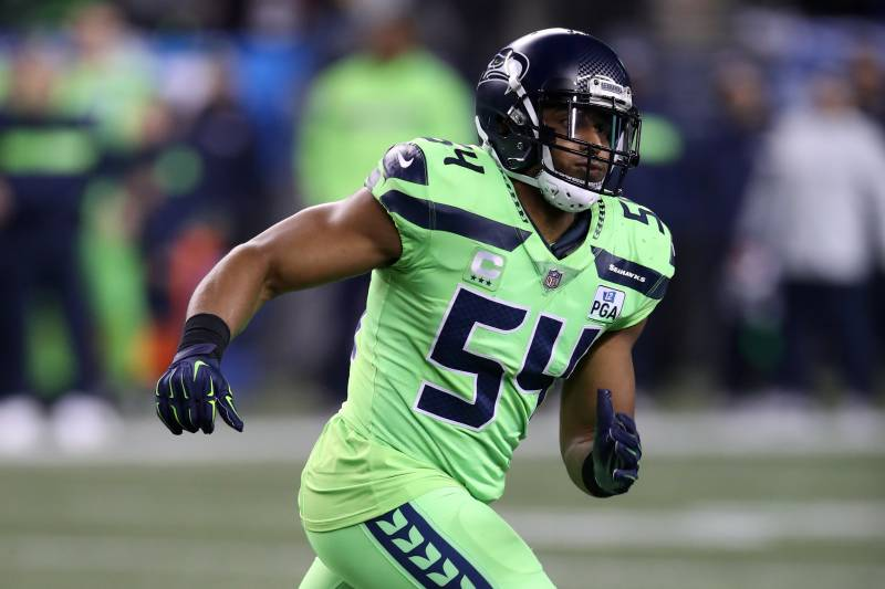 SEATTLE, WA - DECEMBER 10:  Bobby Wagner #54 of the Seattle Seahawks in action during the game against the Minnesota Vikings at CenturyLink Field on December 10, 2018 in Seattle, Washington. The Seahawks defeated the Vikings 21-7.