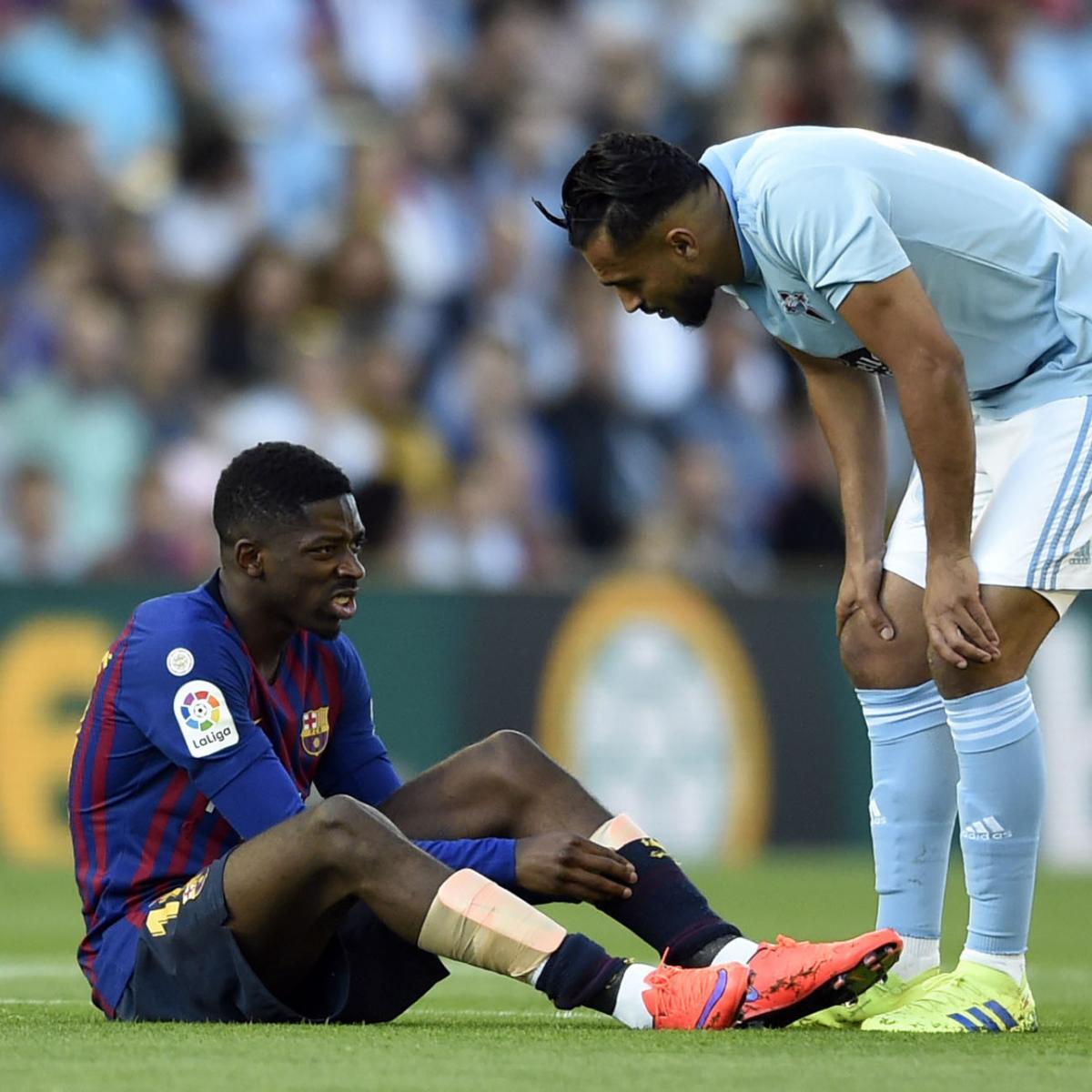 Celta Vigo Vs Barca Totalsportek: Barcelona Fall To Celta Vigo In La Liga After Ousmane
