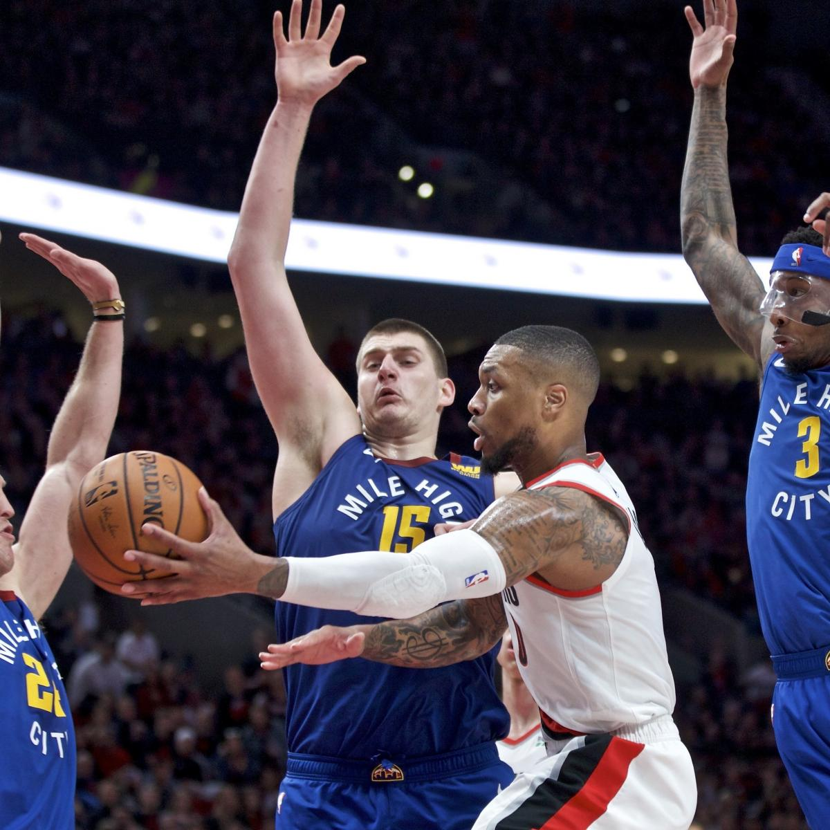 Thrilling Blazers-Nuggets Matchup Is The Series The NBA