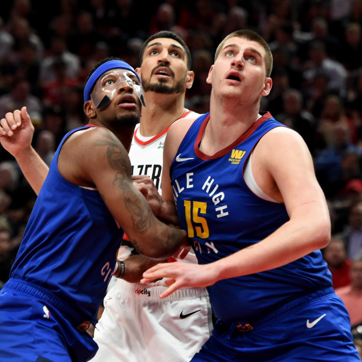 Blazers Kanter: Terry Stotts: Nikola Jokic's Elbow On Enes Kanter In Game