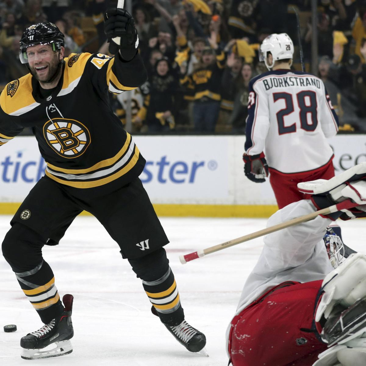 David Pastrnak's Late Goal Gives Bruins 4-3 Game 5 Win