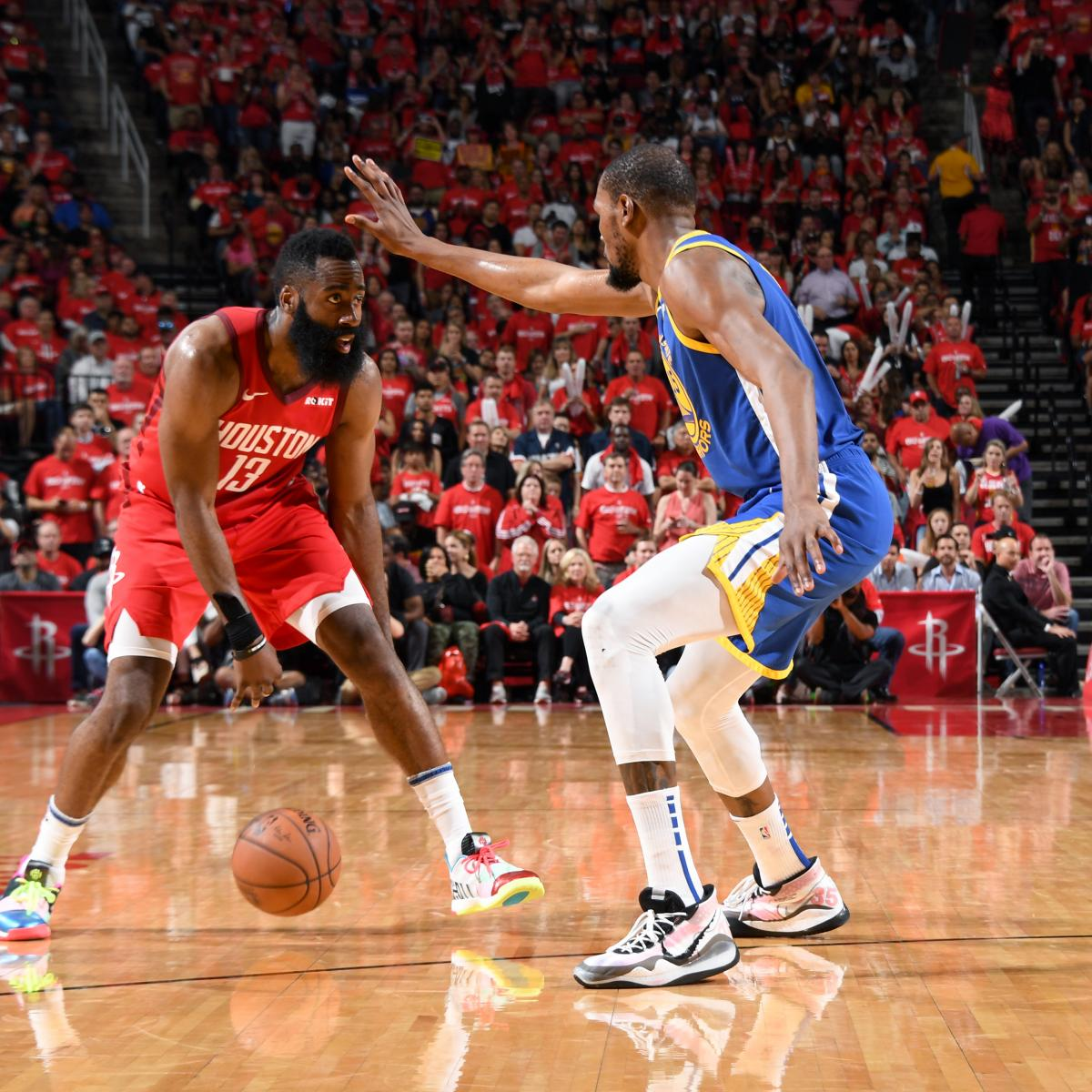 James Harden posted 41 points, nine rebounds and six assists as the Houston Rockets earned a 126-121 overtime win versus the visiting Golden State Warriors in Game 3 of their NBA Western Conference second-round playoff series...