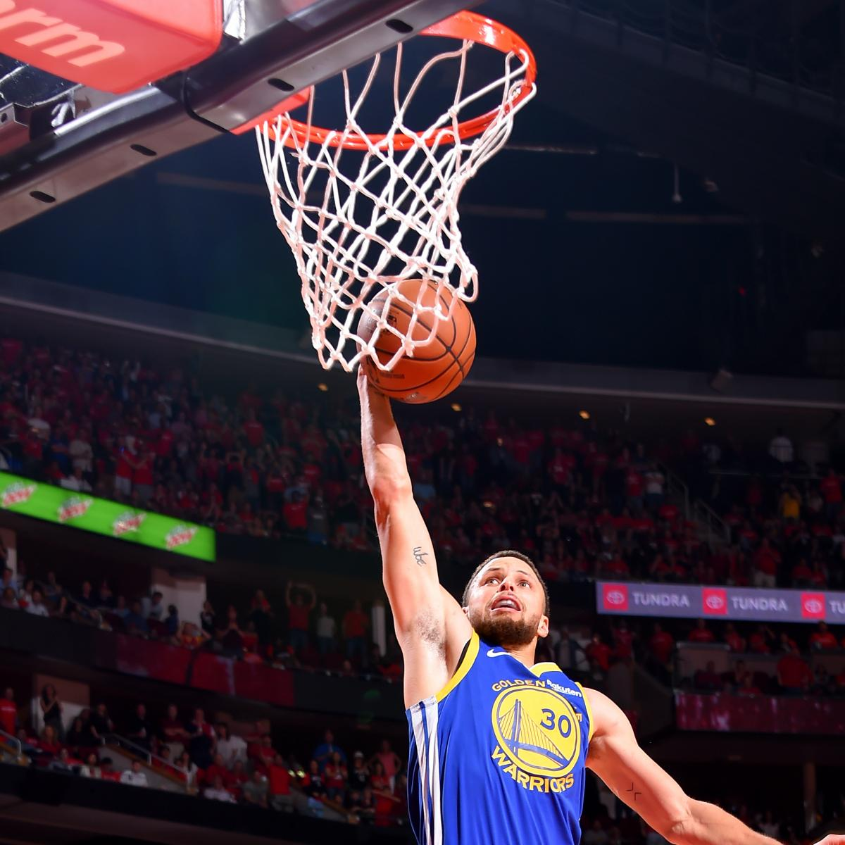Video: Stephen Curry Misses Dunk At End Of Warriors Game 3