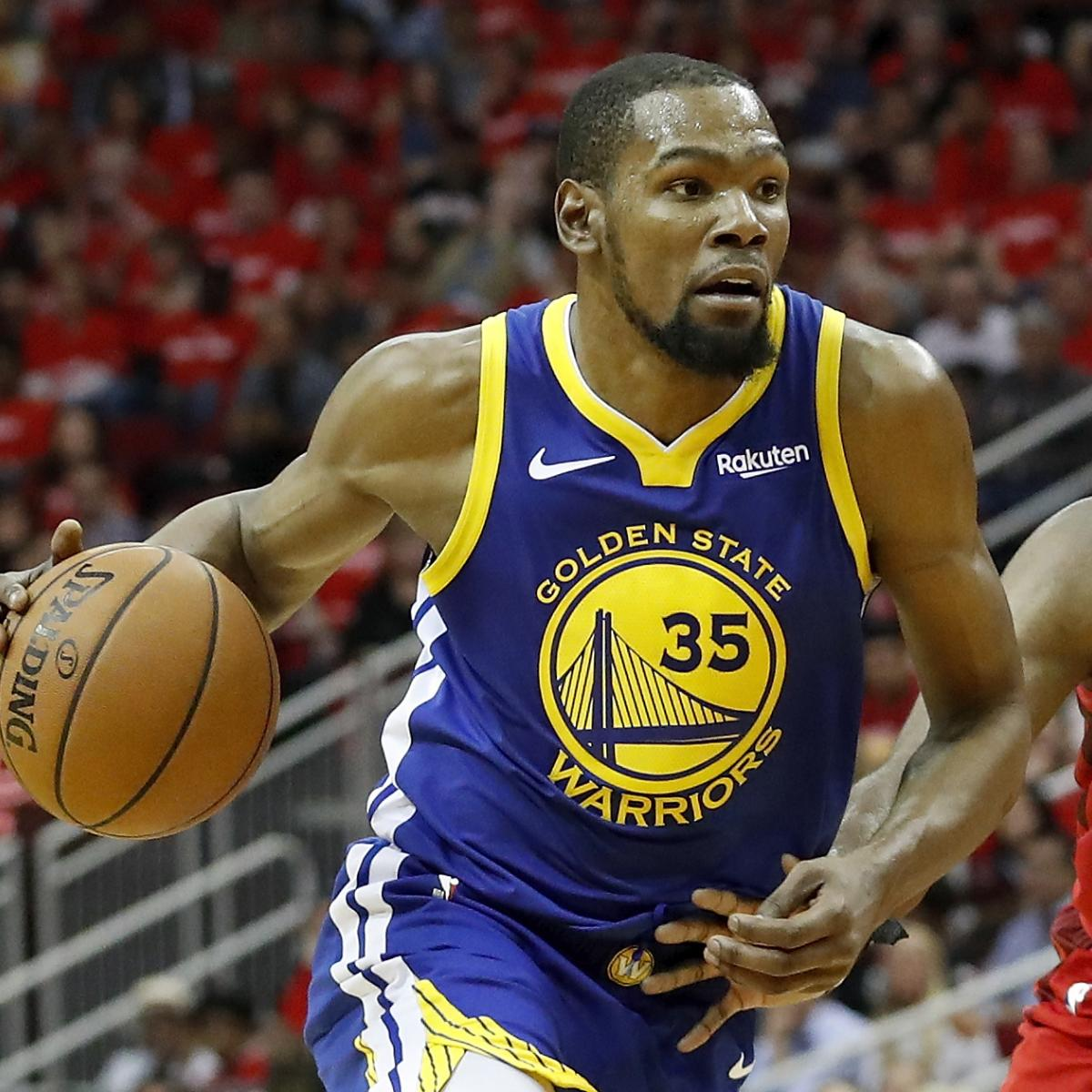 The Golden State Warriors have no right to request more of Kevin Durant , but after Saturday's 126-121 overtime loss to the Houston Rockets, they may have to ask anyway...