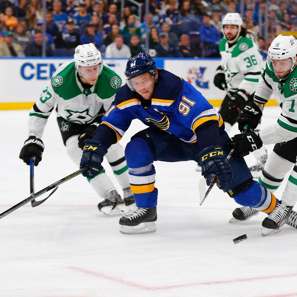 NHL Playoff Bracket 2019: TV Start Times, Live-Stream