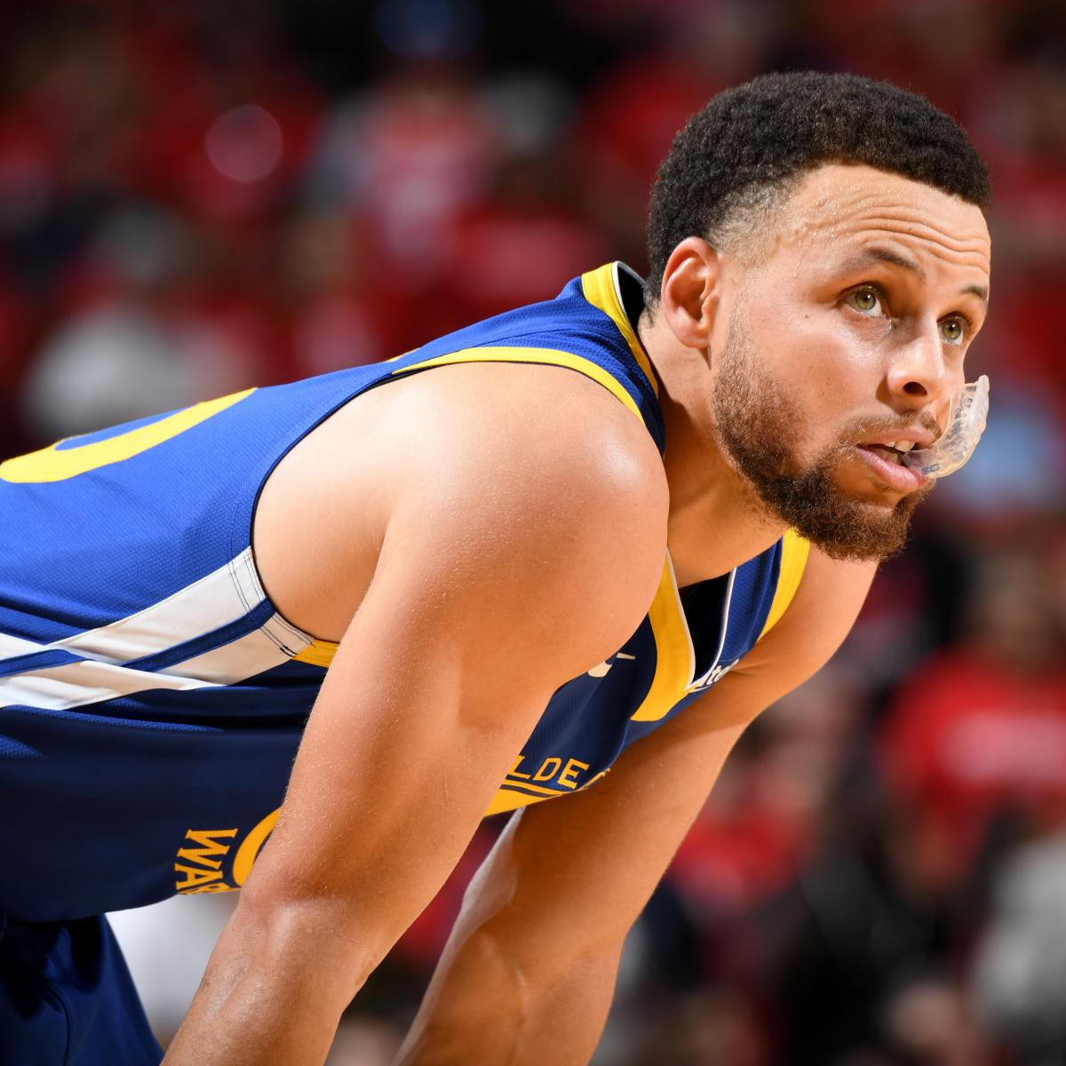 Stephen Curry is averaging 18.3 points per game in the Golden State Warriors ' Western Conference Semifinals matchup against the Houston Rockets , shooting just 36.5 percent from the field and 25..