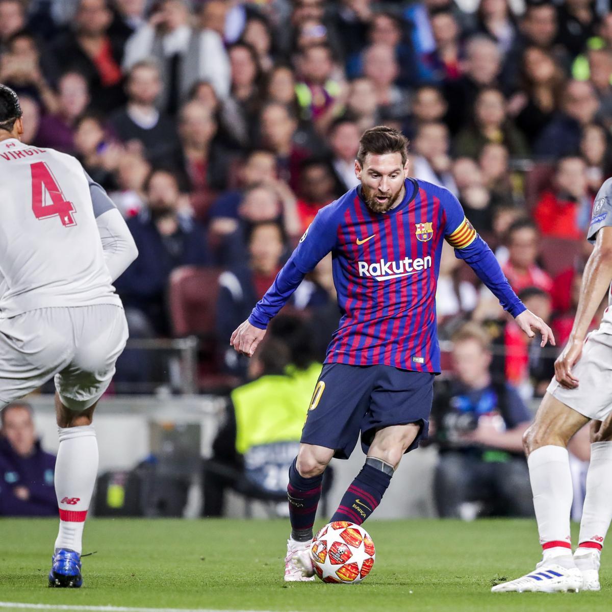 Liverpool Vs. Barcelona: Odds, Live Stream And TV Info For