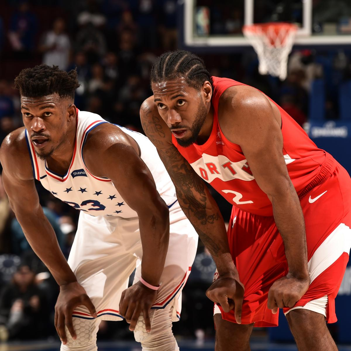 Kawhi Leonard and Jimmy Butler engaged in a Game 4 duel that resembled something out of Terminator 2, and Leonard was the winning machine Sunday afternoon as his Toronto Raptors evened the Eastern Conference semifinals with a 101-96 victory...