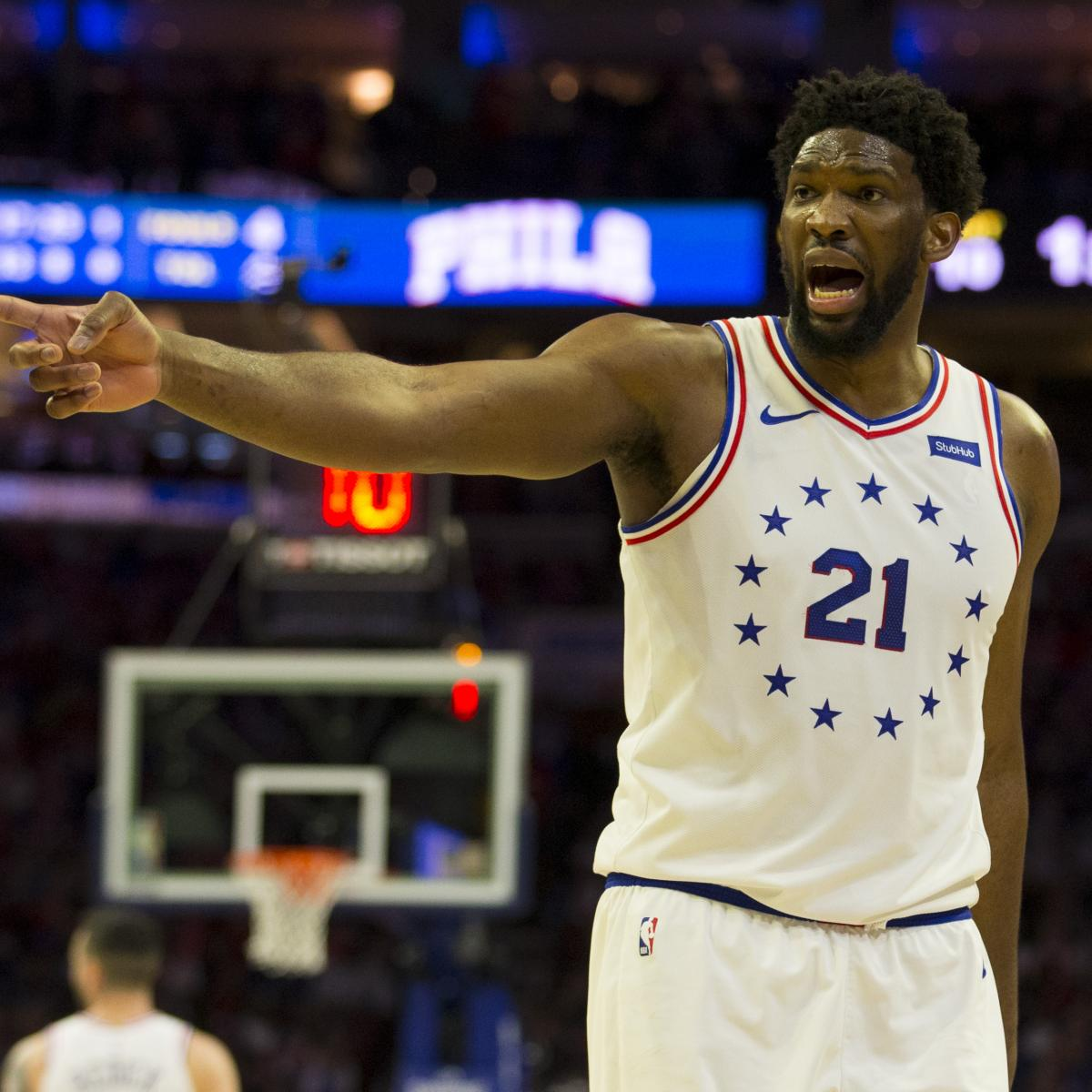 56015709a4e Joel Embiid Says He Was Throwing Up All Night Before 76ers vs. Raptors Game  4