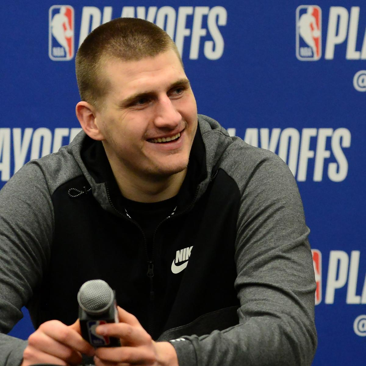 Watch Nikola Jokic Break Mic, Detail Off Day Activities