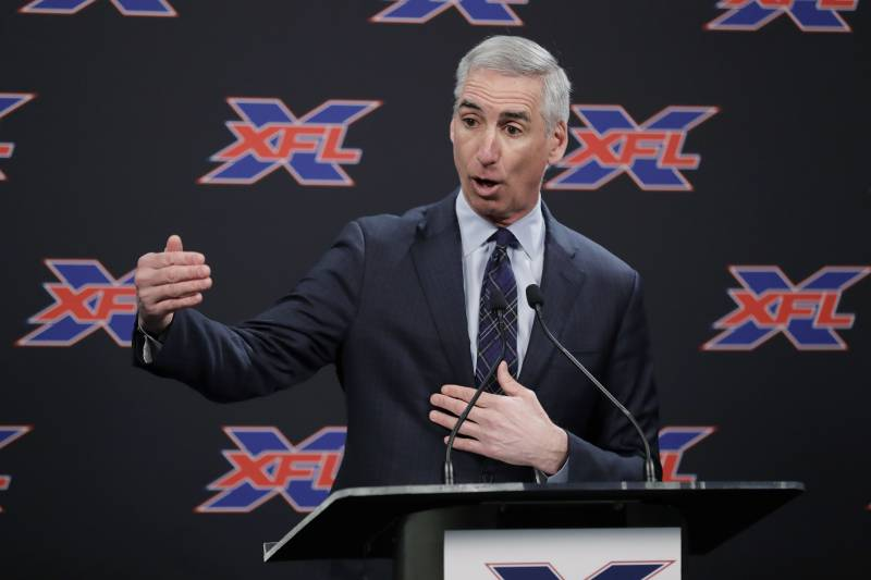 Vince McMahon's XFL 2020 TV Schedule Released with ESPN, ABC