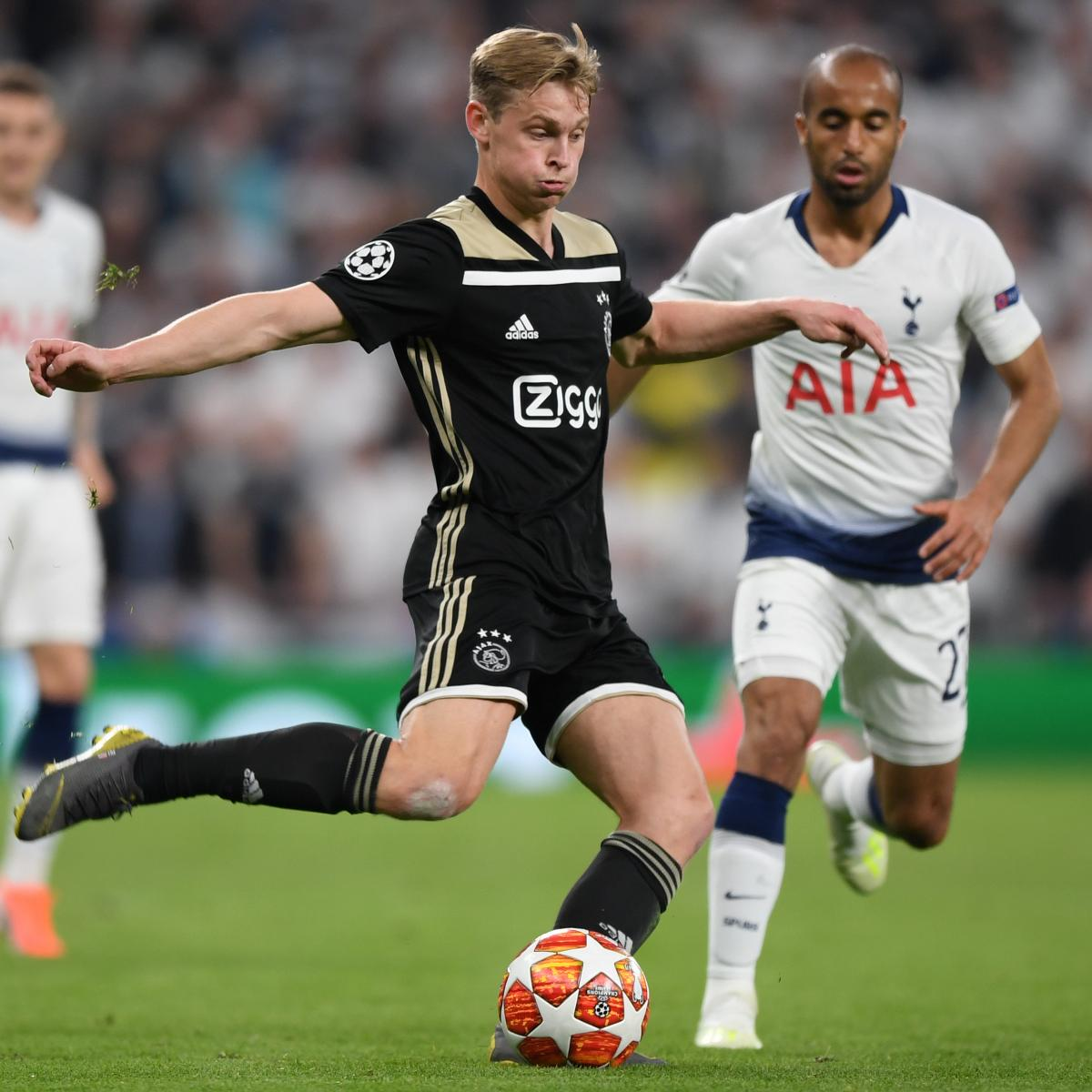 Tottenham Vs Ajax Now Tv: Ajax Vs. Tottenham Hotspur: Preview, Live Stream, TV Info