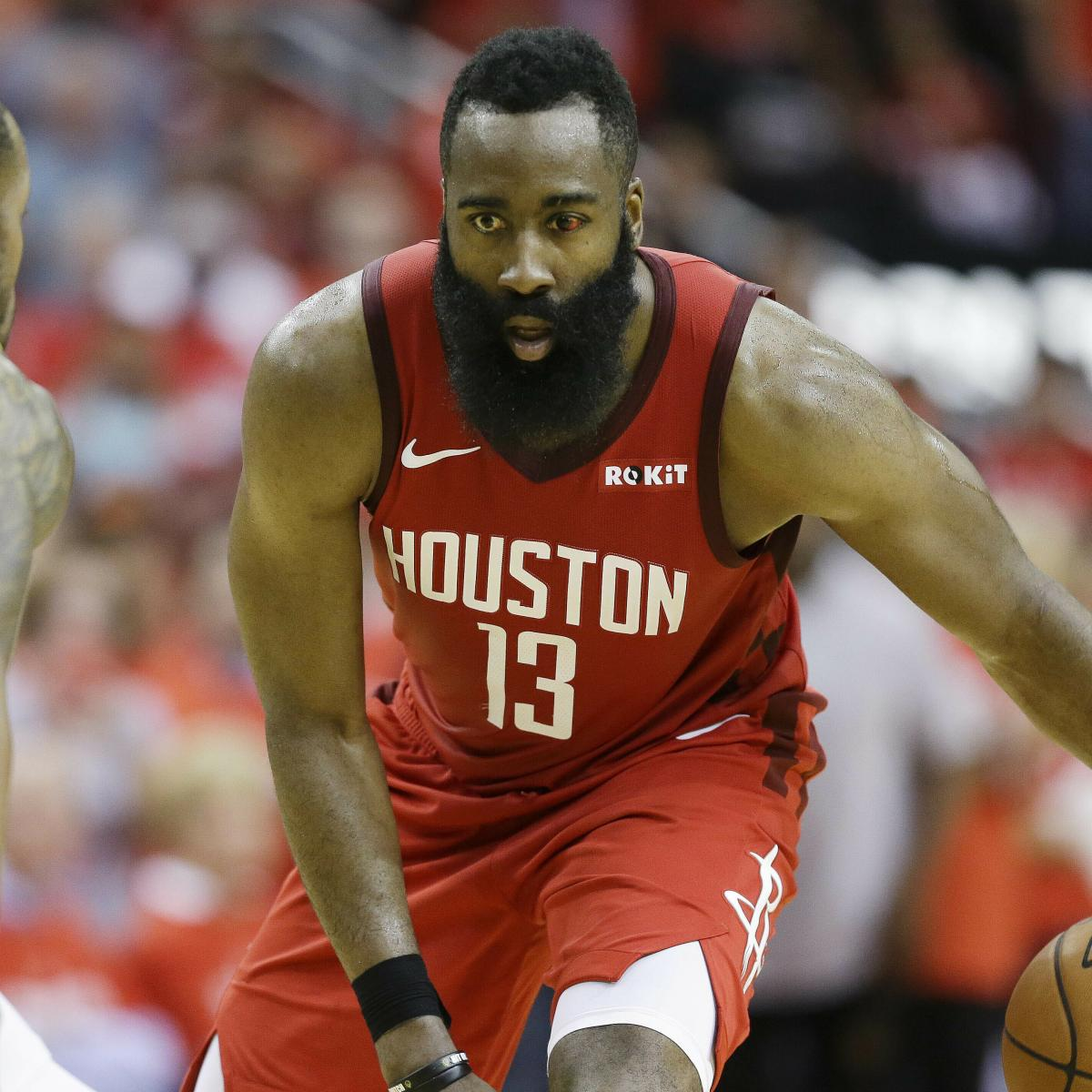 Houston Rockets Game Log: James Harden, Rockets Hold Off Kevin Durant, Warriors To