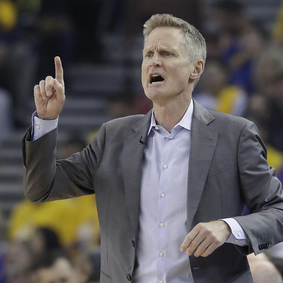 Warriors Vs Rockets Postgame Interview: Steve Kerr Says 'I Love This' After Warriors' Loss Vs