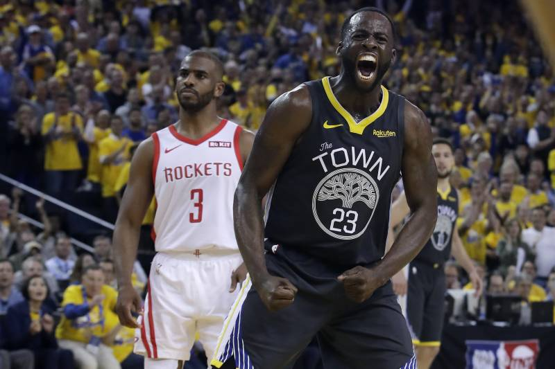 sports shoes 044f1 86440 Draymond Green: Warriors' 'Vibe Is Just Great' After Rockets ...