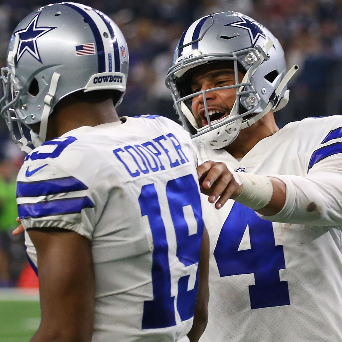 a77938ac5 Cowboys Rumors: 'More Progress' Made for Dak Prescott Contract Than Amari  Cooper | Bleacher Report | Latest News, Videos and Highlights