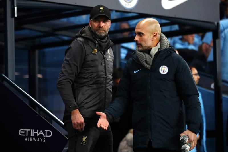 Image result for pep and klopp