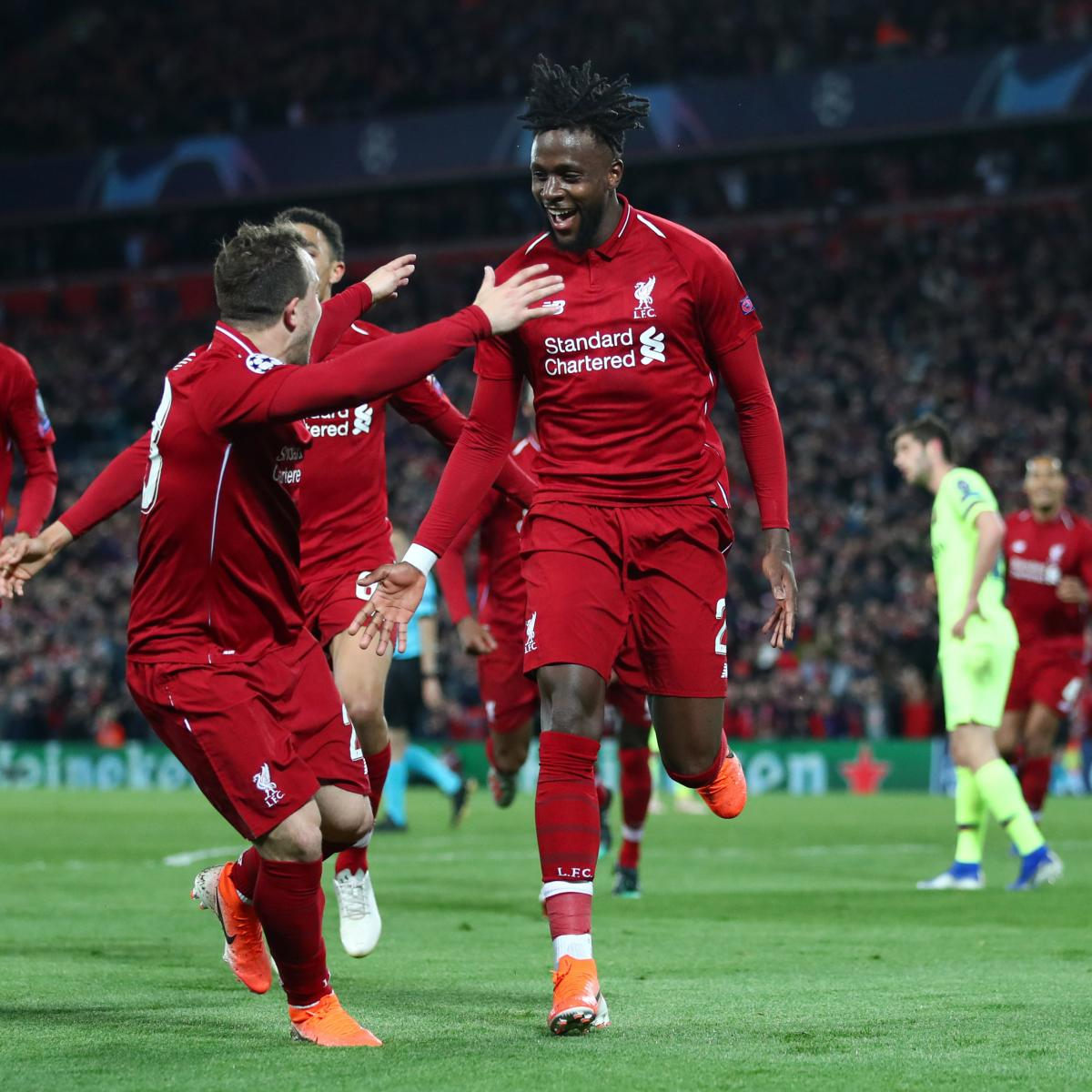 Liverpool 4 0 Barcelona Result 4 3 Agg: Liverpool Complete Miracle Comeback Vs. Barcelona, Advance