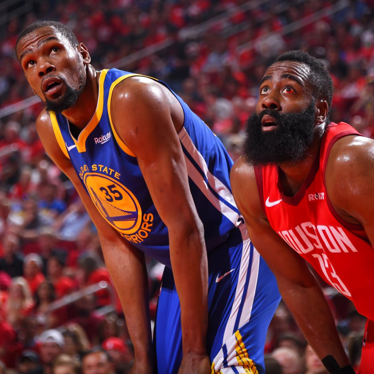 NBA Playoff Schedule 2019: Dates, TV Info For Remainder Of