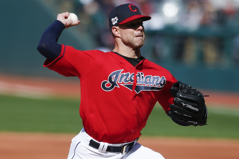 Indians P Corey Kluber Shut Down from Throwing After Suffering Oblique Injury