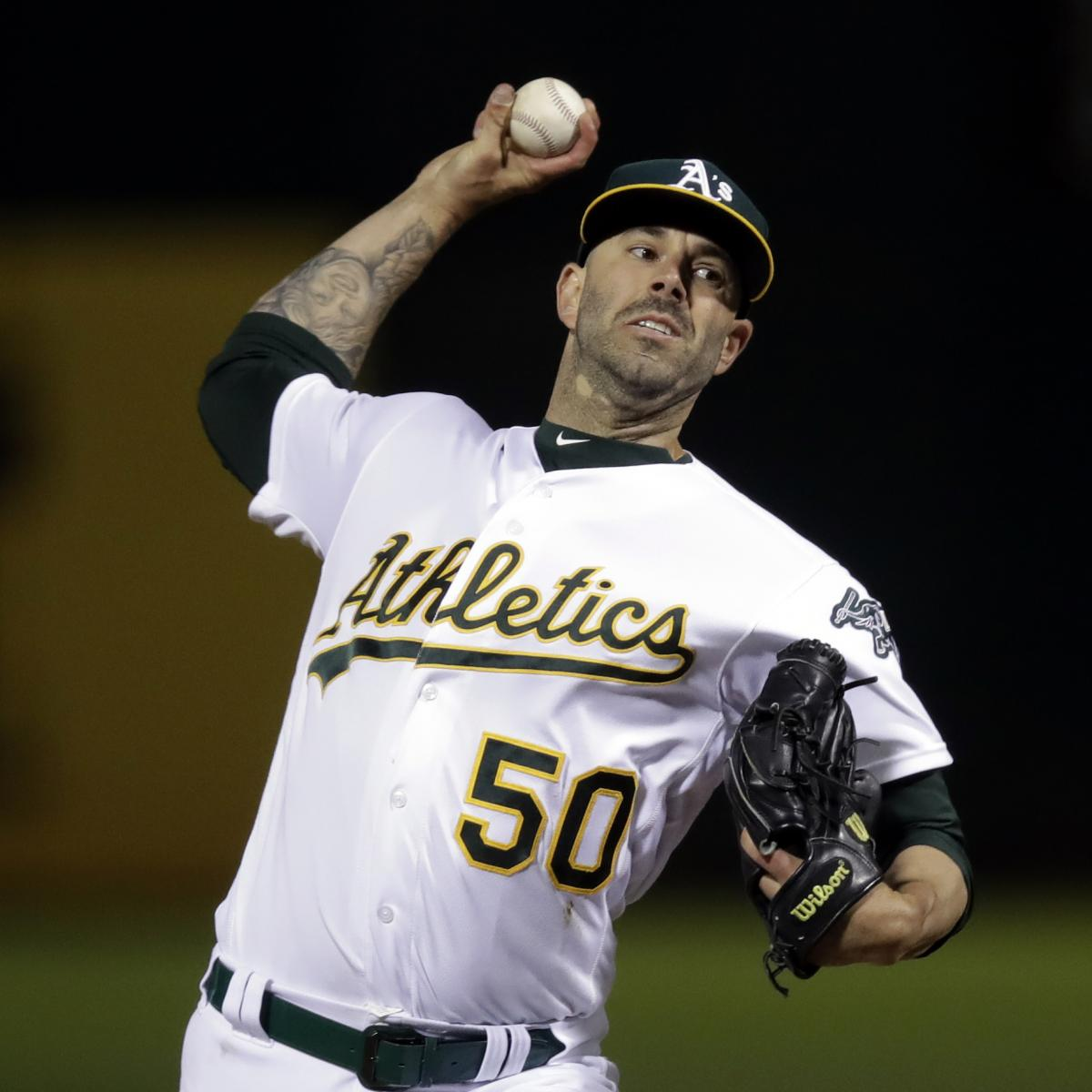 Athletics' Mike Fiers Throws 1st No-Hitter Of 2019 Season