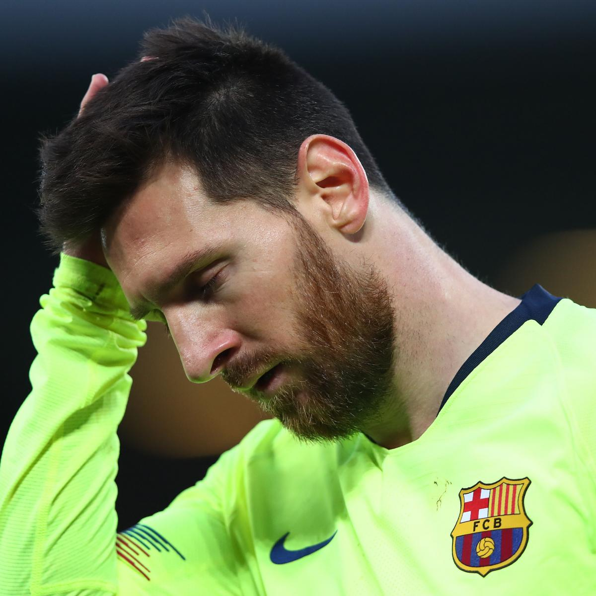 Report: Lionel Messi Cried After Barcelona Loss; Hassled by Fans on Video