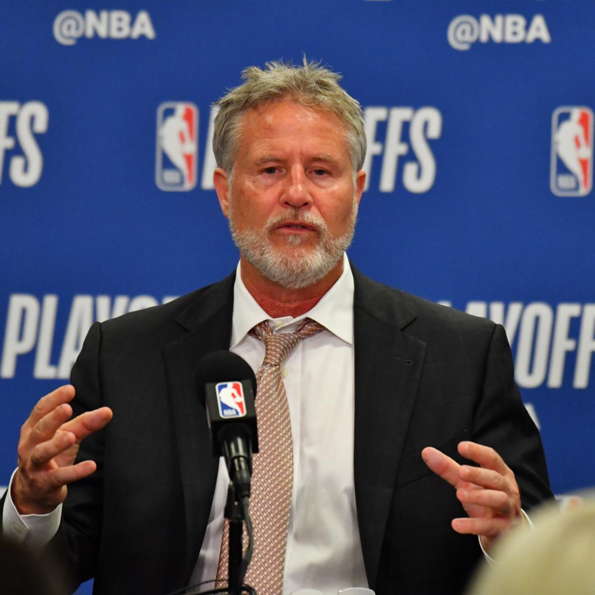 76ers Rumors: Brett Brown's Job 'Might Be in Jeopardy' After Raptors Loss