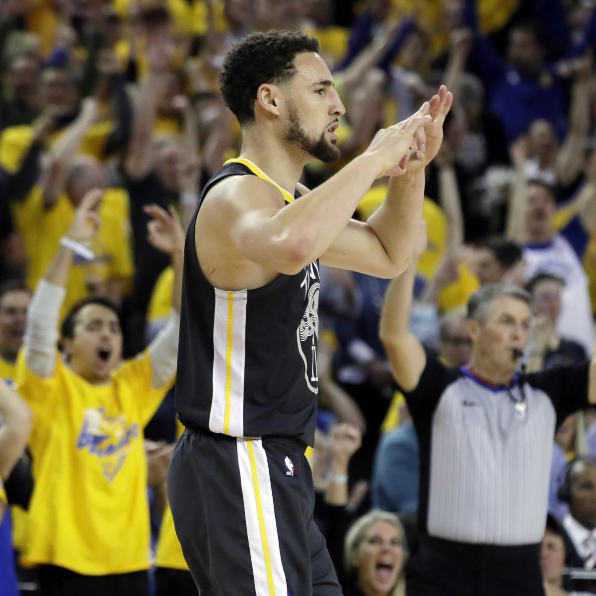 13817ad1633 Golden State Warriors coach Steve Kerr said Wednesday he believes Klay  Thompson will be back with