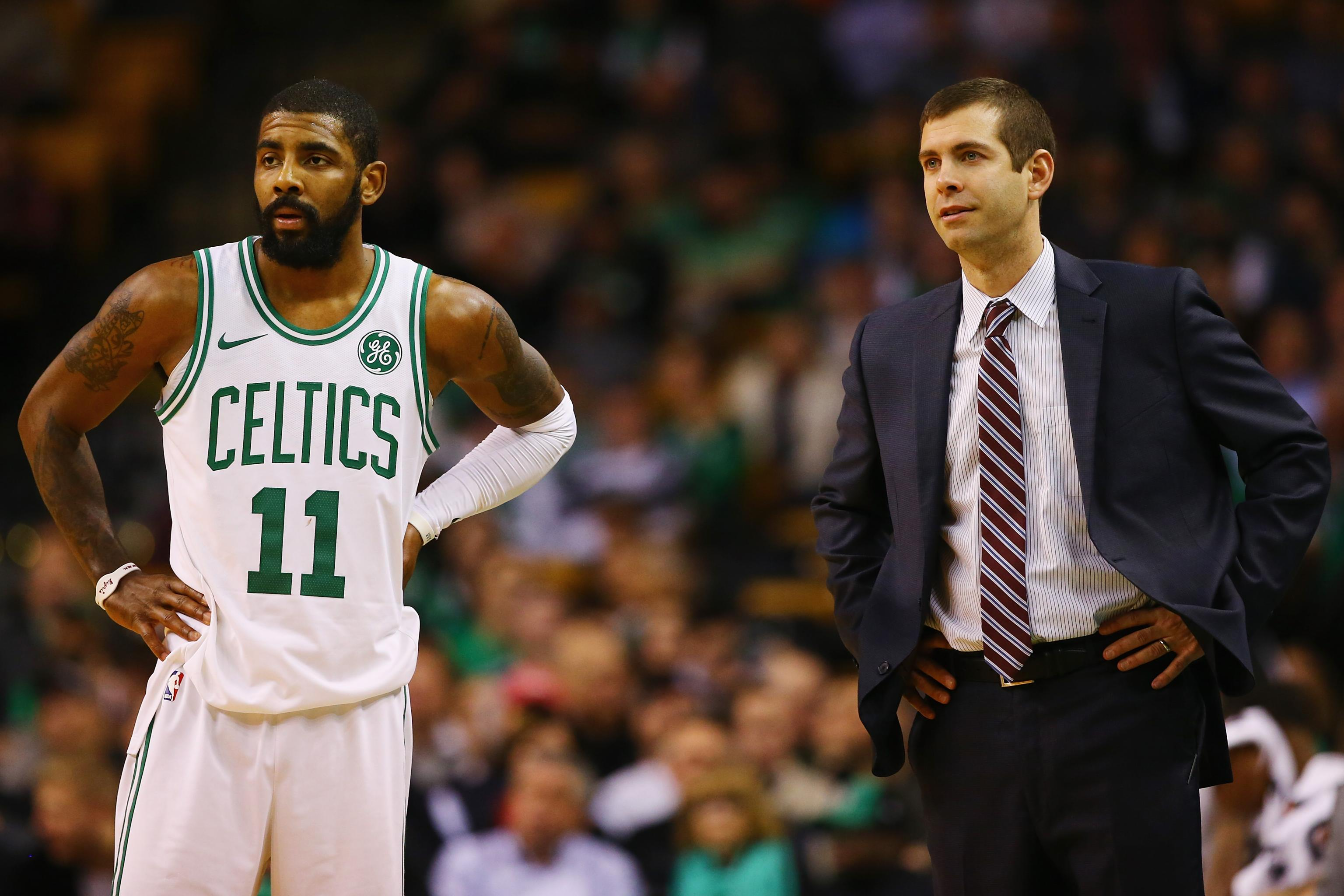 san francisco 54fcb 2a995 Boston Celtics' Top Offseason Priorities: How to Keep Kyrie ...