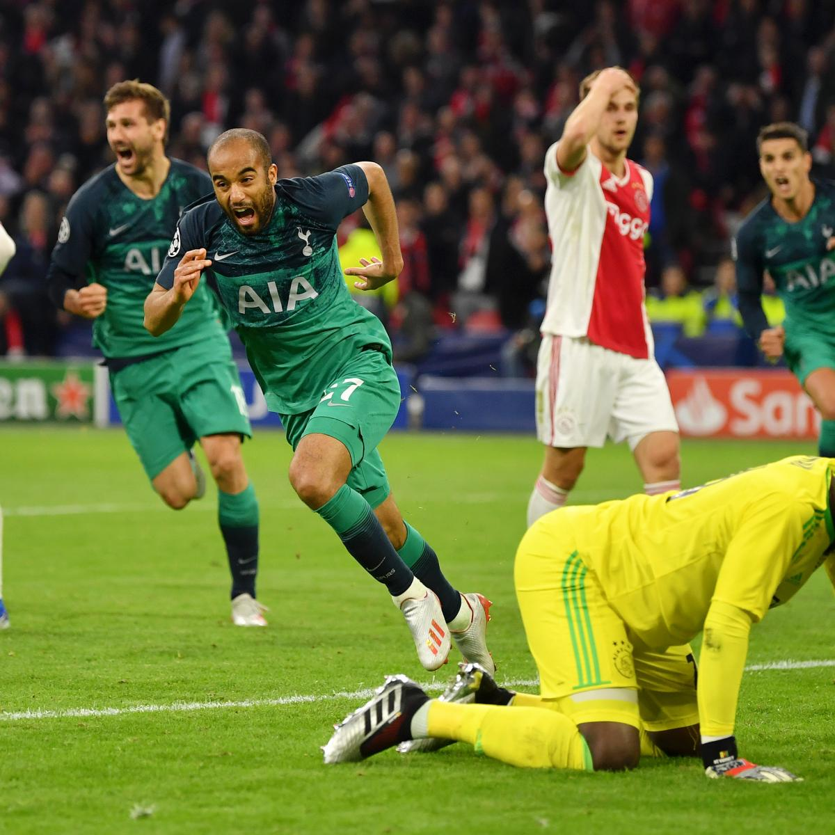 Tottenham Vs Ajax Tickets Away End: Lucas Moura's Hat Trick Stuns Ajax, Leads Tottenham To UCL