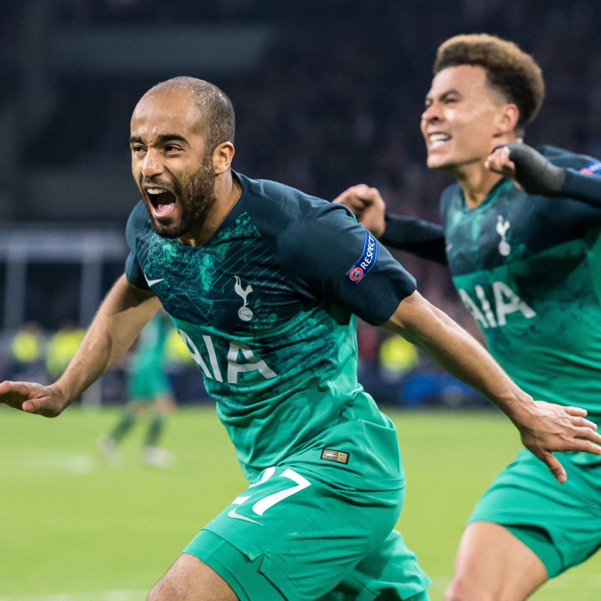 Lucas Moura Spurs Goals: Video: Watch Lucas Moura's Shocking 96th-Minute Goal Send