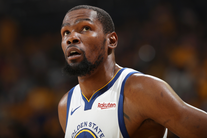 Warriors Make Out Like 'F--king Giants' in Spite of Durant's Seismic Injury