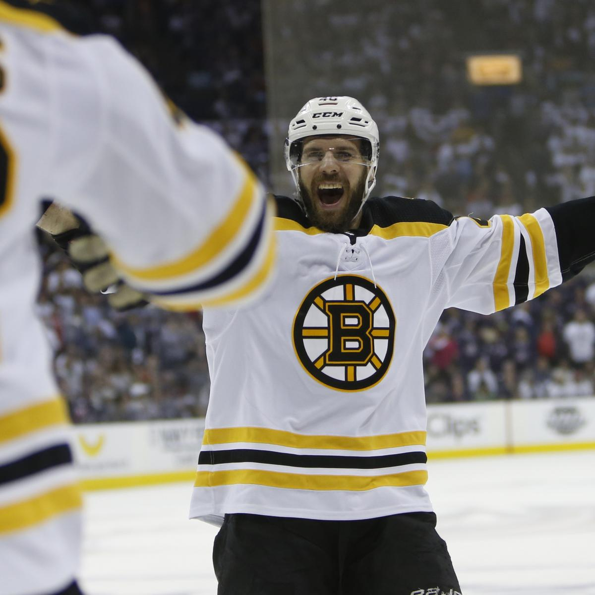 NHL Playoffs 2019: Updated Stanley Cup Outlook Before