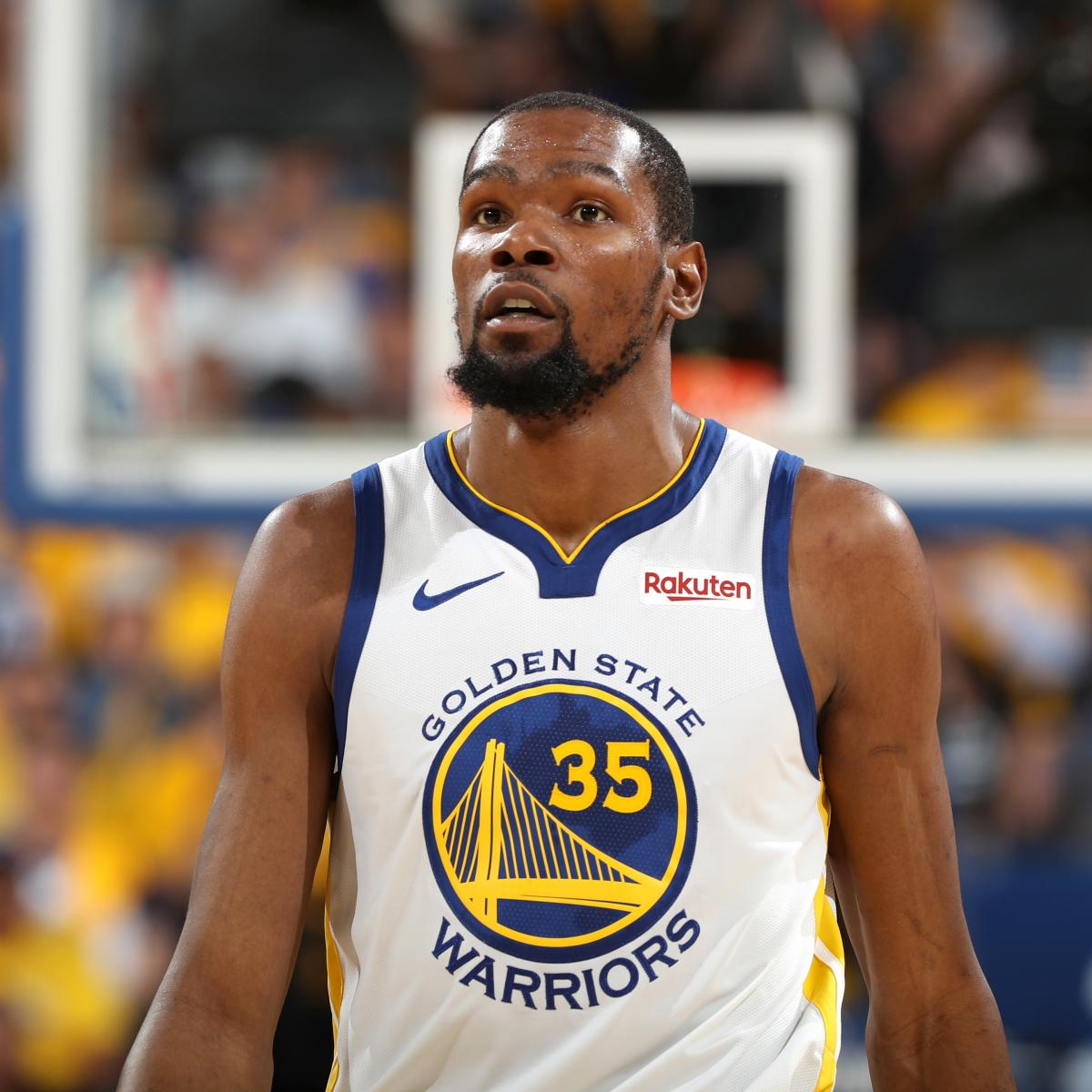 Warriors Come Out To Play Bleacher Report: Warriors News: Kevin Durant Out For Rest Of Rockets Series