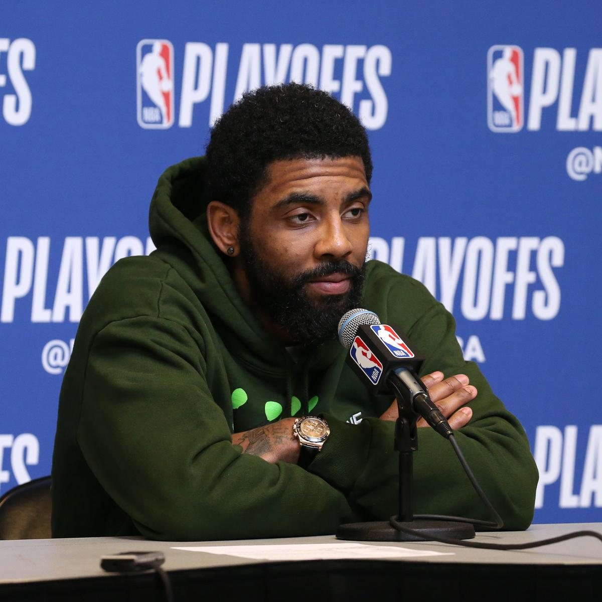 """Kyrie Irving does not have a fan in Kendrick Perkins . The former Celtics center criticized Irving for his attitude during Boston's second-round loss to the Milwaukee Bucks , telling Fox Sports' Colin Cowherd it was """"disrespectful"""" to the city..."""