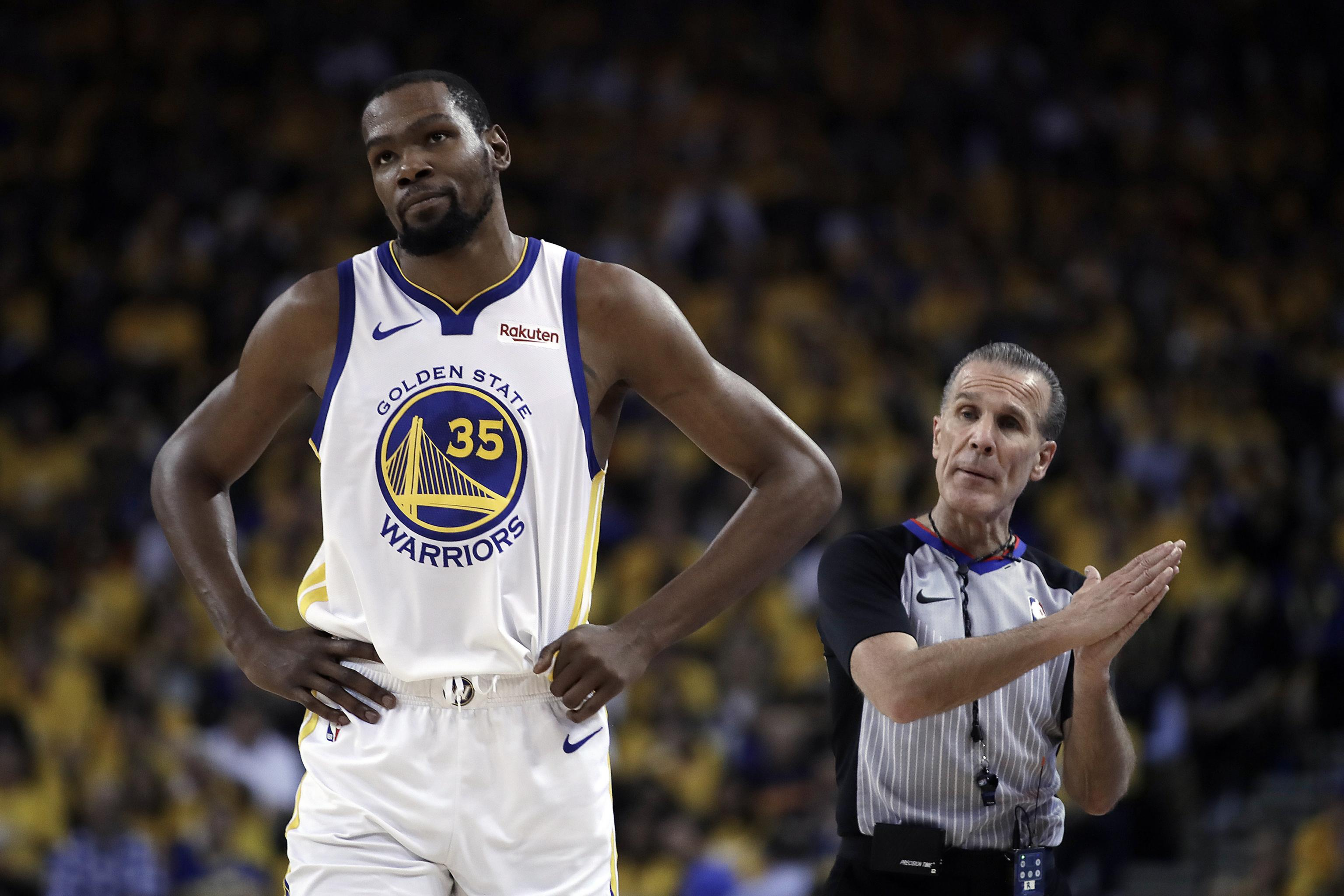 538c2e265e5 Steve Kerr  Kevin Durant Should Return from Calf Injury If Warriors Beat  Rockets