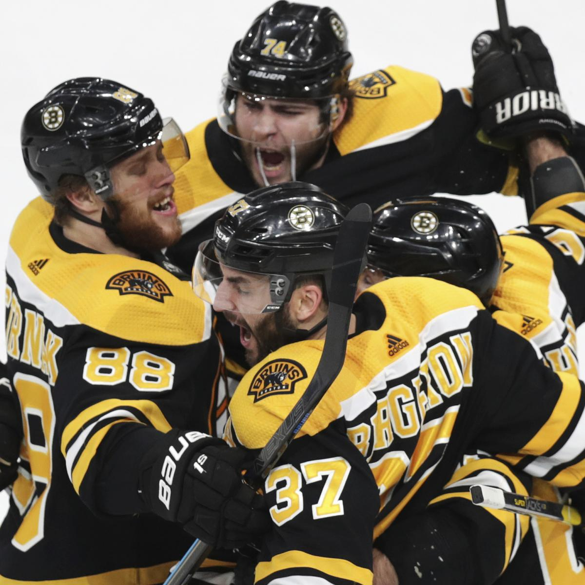 Patrice Bergeron Scores, Bruins Storm Back For 5-2 Game 1