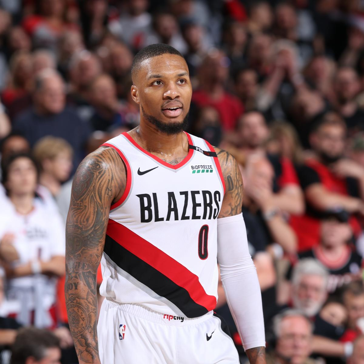 Nba Playoffs 2019 Nuggets Vs Trail Blazers Game 6 Tv: Damian Lillard Says He's Going To 'Get The Job Done' In