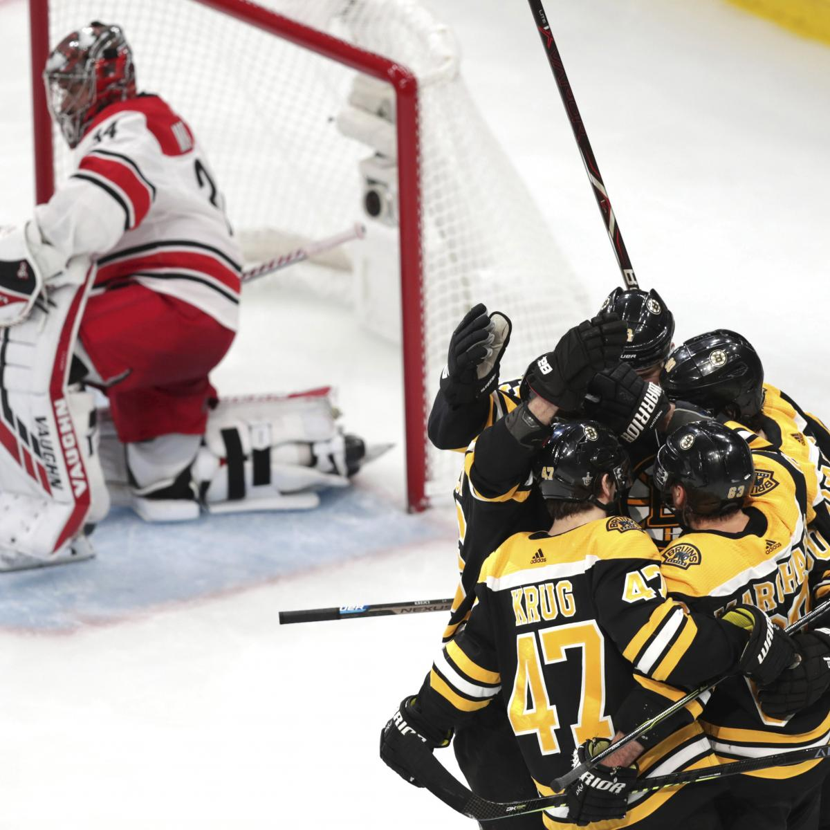 NHL Playoffs 2019: Full Conference Finals Schedule And
