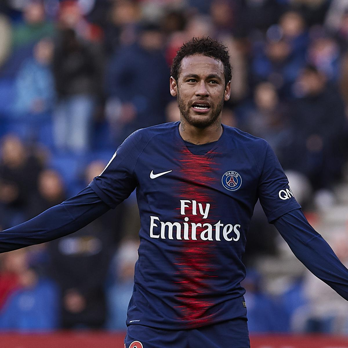 Bastia 0 3 Psg Match Report: Neymar Given 3-Match Ban For Hitting Fan After PSG's Coupe