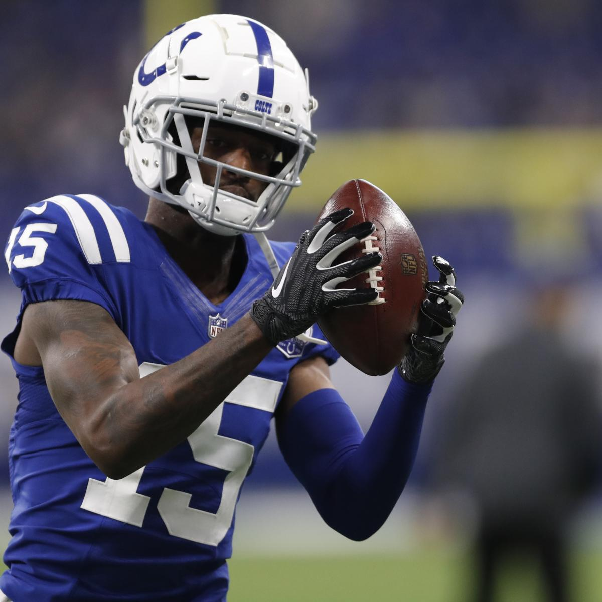 Former Colts WR Dontrelle Inman Signs Reported 1-Year