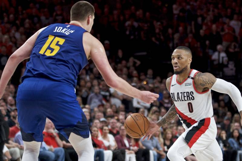 Image result for damian lillard scoring over past 7 games