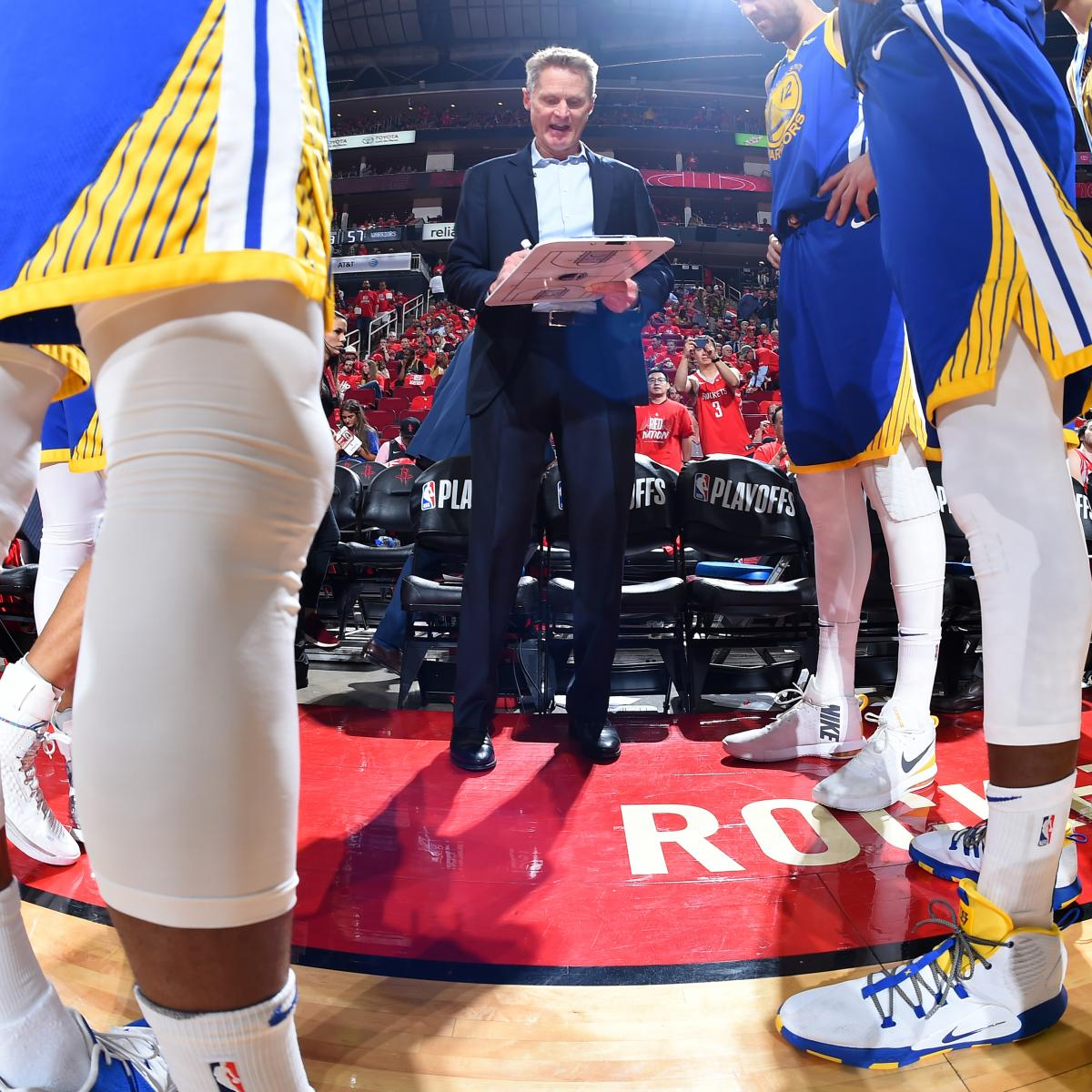 Houston Rockets Game Log: Steve Kerr: Rockets Game 6 'One Of The Most Satisfying