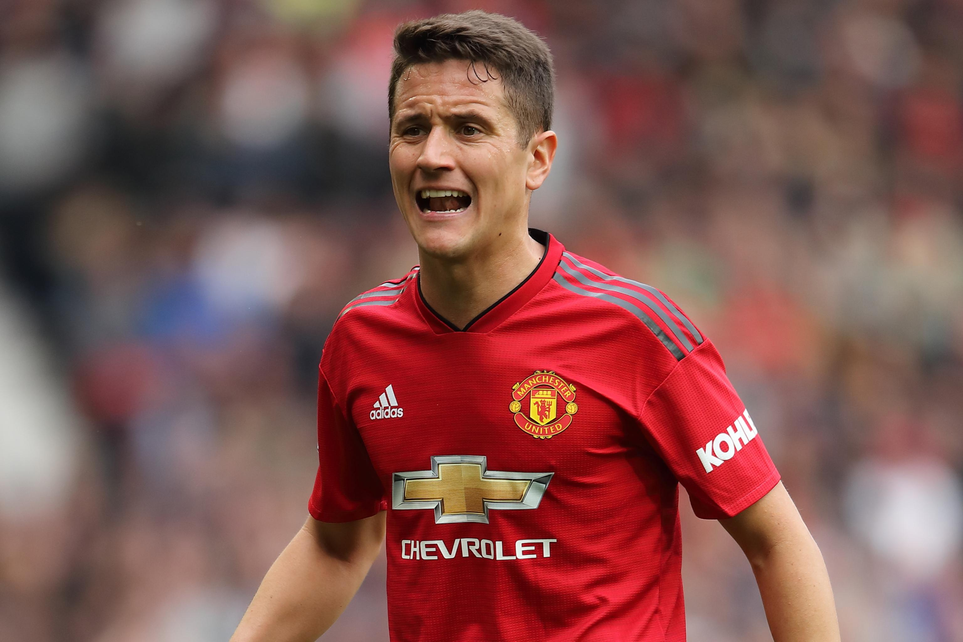 Ander Page Videos manchester united confirm ander herrera exit amid psg