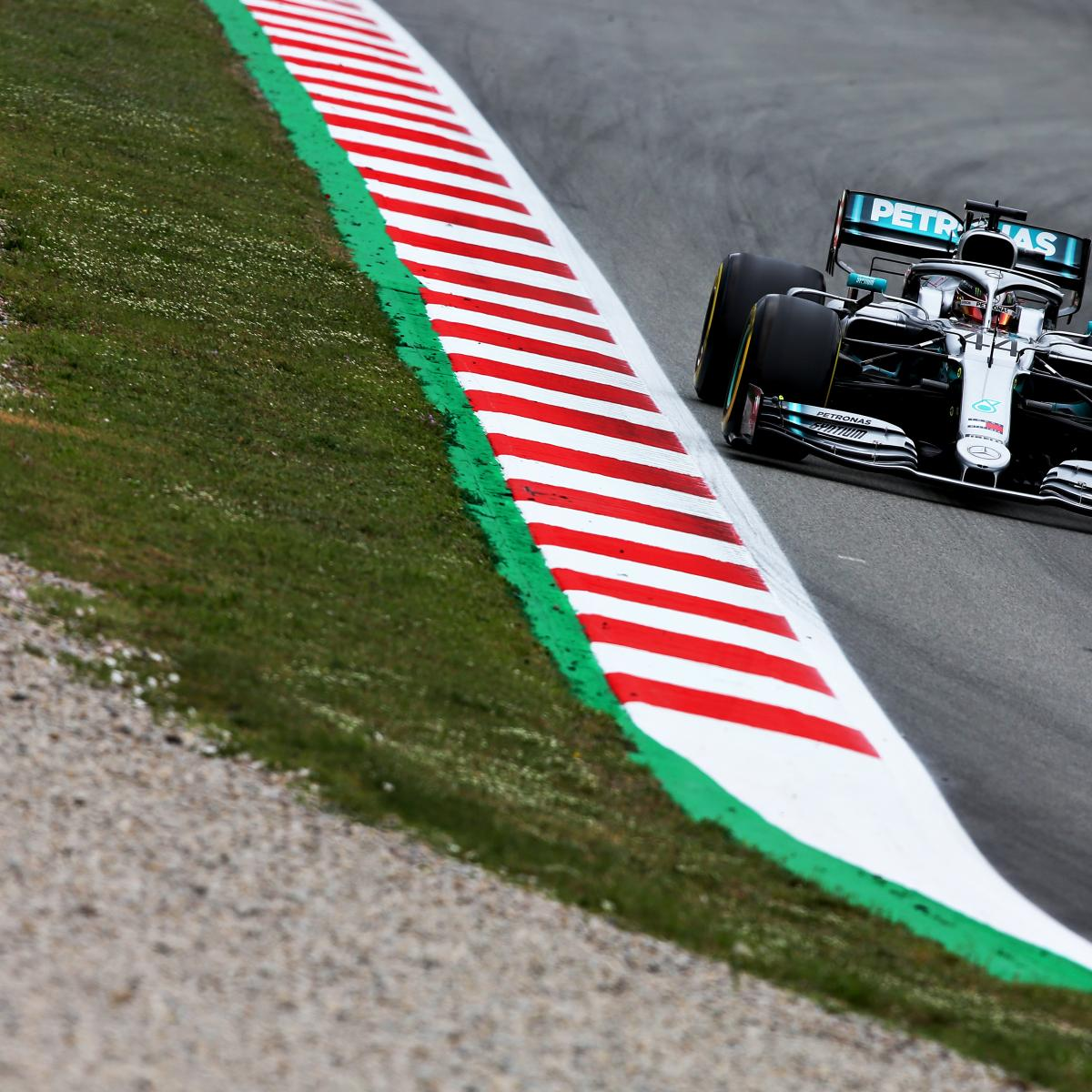 Spanish F1 Grand Prix 2019 Qualifying: Saturday's Results