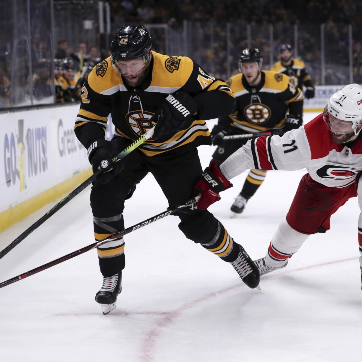 NHL Playoff Bracket 2019: Known Schedule Details For