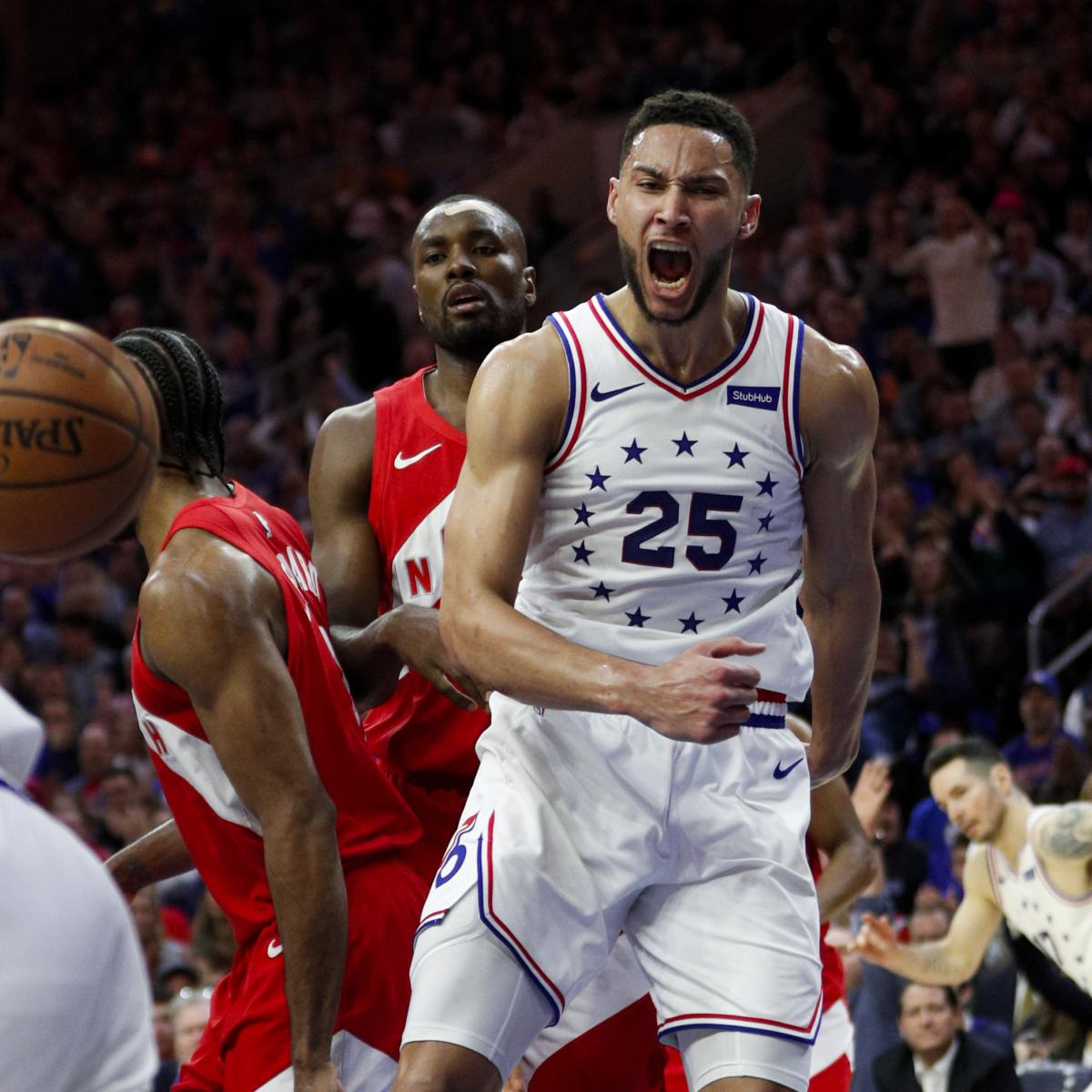 Bleacher Report Nba Staff S 2019 Playoff Predictions: NBA Playoffs 2019: TV Info, Predictions For All Of Sunday